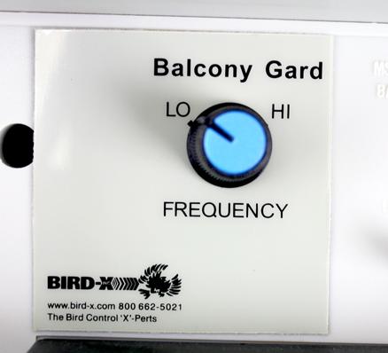 Balcony Gard Control