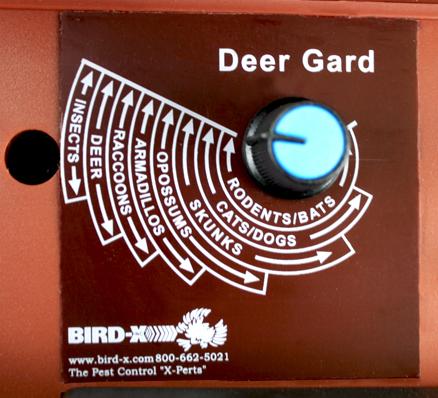 Deer Gard control