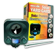 NEW! Solar Yard Gard