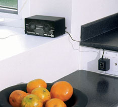 Transonic pro repels pests in kitchen