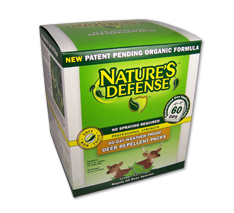 Nature's Defense Deer for retail