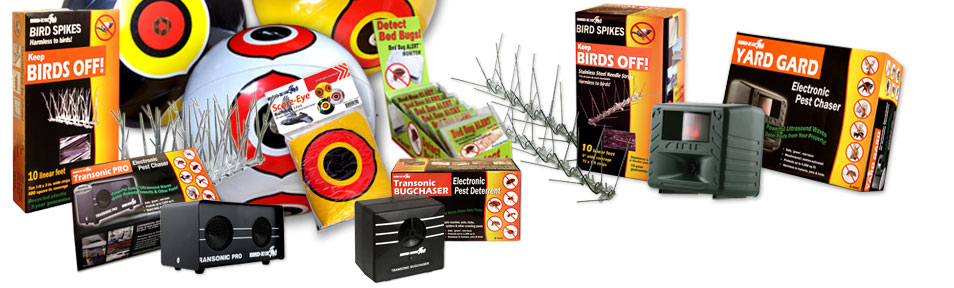 Bird-x retail products